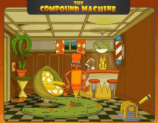 Compound Machine Title Screen