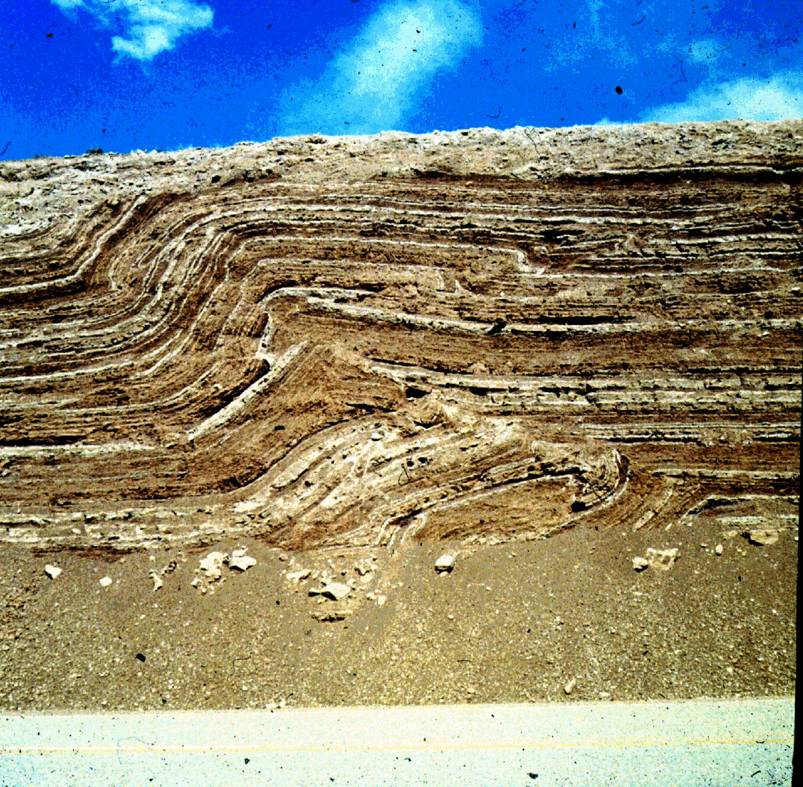Images of folds and faults | Middle School Science at ...