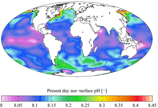 pH_seawater world map